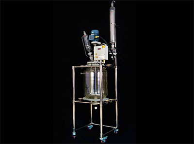 Industrial Biodiesel Reactor with Condenser