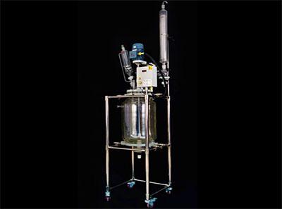Industrial Biodiesel Reactor with Condenser