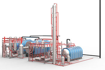 Reduction Of Waste Lubricating Oil Base Stocks Technology Introduction