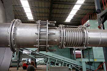 Static And Dynamic Seals For Pyrolysis Plant