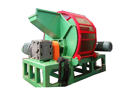 Operating Principle of Tire Shredding Machine