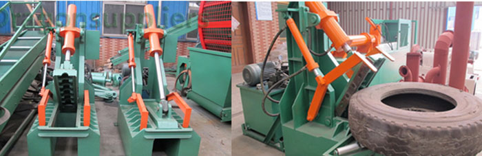 Pre-Process Equipment For Tire Pyrolysis Line 05
