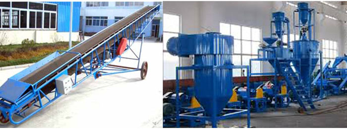 Pre-Process Equipment For Tire Pyrolysis Line 07