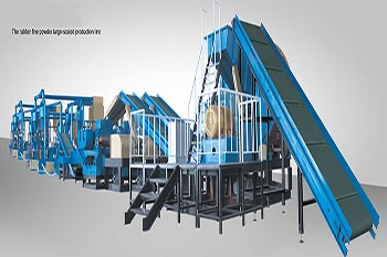 Tire Rubber Powder Production Line