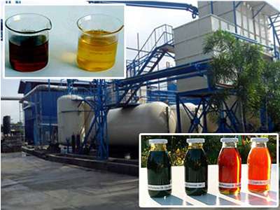Used Oil Recycling Plant 1