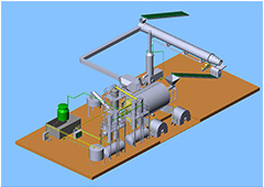 Waste Tyre Recycling Plant 0