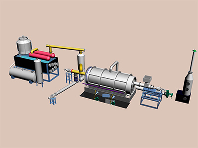 Batching Waste Pyrolysis Plant 1