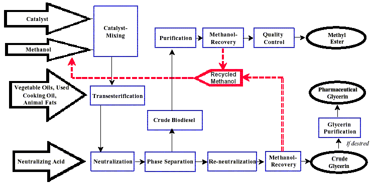 Biodiesel Production Process